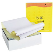 黄欣乐打印纸 241-1-1/2 白色,撕边