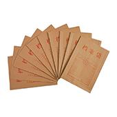 齐心牛皮纸档案袋 AP-117 200g 纯木浆 10个/袋