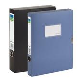 齐心美石档案盒 MC-35-银钨 A4 35mm 18个/件