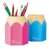 得力塑胶大铅笔筒 9145 (蓝/红)随机发货 24个/盒,96个/件