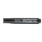 齐心物流专用记号笔 MK818-黑 12支/盒,120支/条 1152支/件