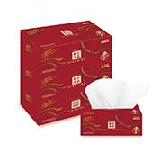 清风盒装抽纸 B338AFD 二层,200抽,206mm*195mm 3盒/提,12提/件