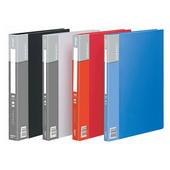 齐心普用型资料册 PF20AK-蓝 A4,20页,12本/盒,72本/件