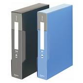 齐心普用型资料册 PF80AK-1-黑 A4,80页,8本/盒,16本/件