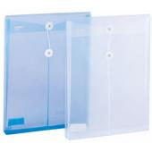 齐心绳扣档案袋 F118-白色 A4 竖 底宽33mm 10个/袋,360个/件