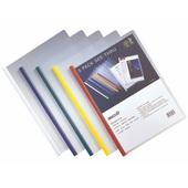 齐心抽杆夹 HF287A-混色 A4,可装70g纸20张,5个/袋,120袋/件