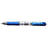真彩按动式中性笔 A47-蓝 0.5mm,12支/盒,144支/条