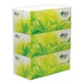 心相印盒装抽纸茶语系列 H200 200抽/盒,3盒/提,12提/件