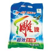 雕牌超效加酶洗衣粉 1.28kg/袋,6袋/件