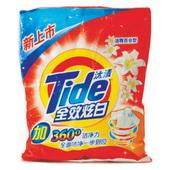 汰渍全效炫白洗衣粉 1kg/袋,8袋/件