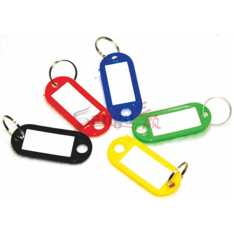 祥发钥匙/标签牌 带环 双头圆 内芯是3×1.5cm