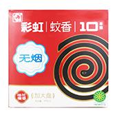 彩虹蚊香(大盘无烟桂花檀香) 5718(138*138*26) 无烟,54盒/件
