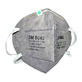3M KN90头带式有机蒸汽异味及颗粒物防护口罩/呼吸器 9042 25个/盒   10盒/箱