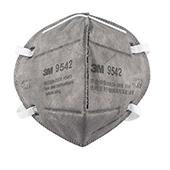 3M活性炭防颗粒物口罩 9542 头戴式 25只/盒