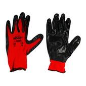 安思尔(Nylon Red)腈胶涂层黑色手套 48-128-8 12双/打,12打/箱