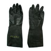 安思尔(Extra)黑色天然橡胶手套 87-950-9 12双/打,12打/箱